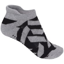 Pointe Studio Kiko Grip Socks - Below the Ankle (For Women) in Heather Grey - Closeouts