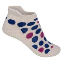 Pointe Studio Watts Grip Socks - Below the Ankle (For Women) in Oatmeal - Closeouts