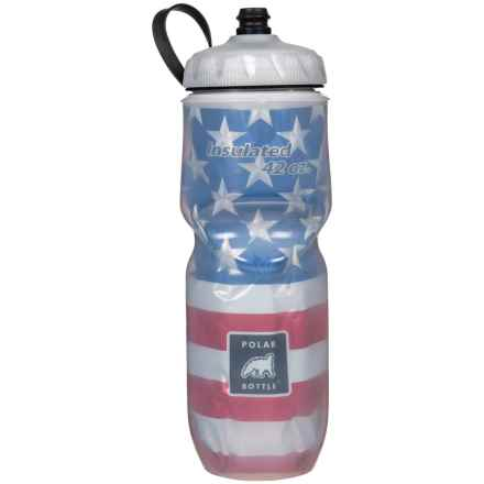 Polar Bottle Insulated Water Bottle - 42 oz., BPA-Free in Stars & Stripes - Closeouts