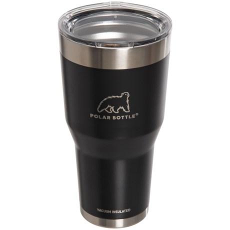 Polar Bottle Stainless Steel Vacuum-Insulated Tumbler - 30 oz. in Black