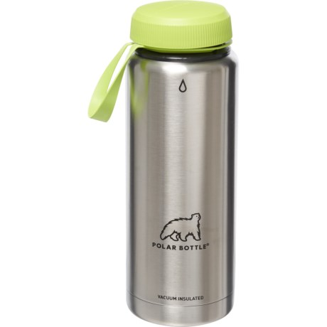 Polar Bottle Thermaluxe Insulated Water Bottle 21 Oz Stainless Steel Save 34