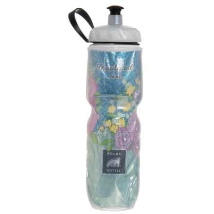 Polar Bottle Water Bottle - 24 fl.oz., Insulated in Secret Garden - Closeouts