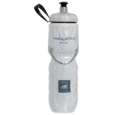 Polar Bottle Water Bottle - 24 fl.oz., Insulated in White - Closeouts