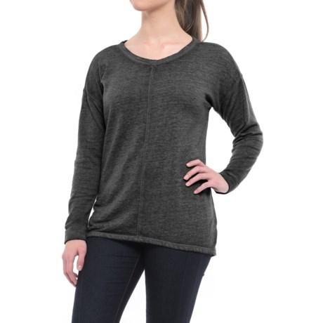 Polar Fleece-Lined Shirt - Long Sleeve (For Women)