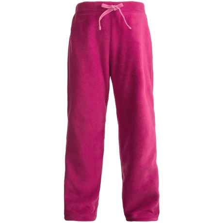 Polar Fleece Pants (For Girls) in Orchid