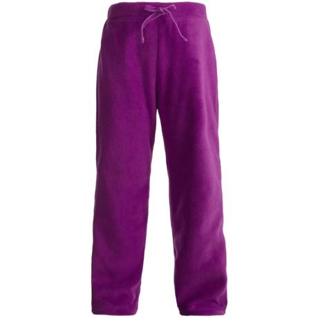 Polar Fleece Pants (For Girls) in Orchid