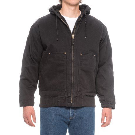 Polar King by Key Hooded Fleece-Lined Duck Jacket - Insulated (For Men)