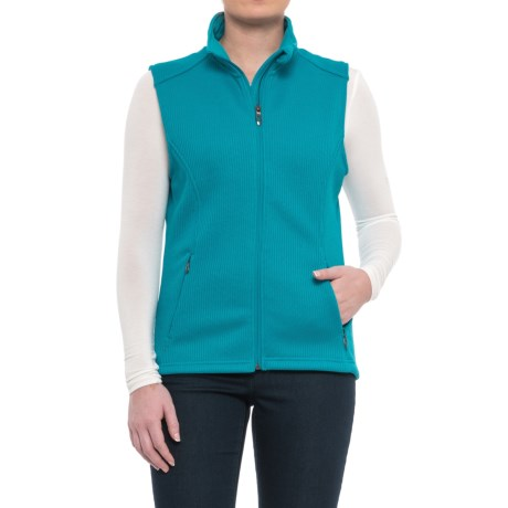 Polar King by Key Marmaton Work Vest (For Women) in Turquoise