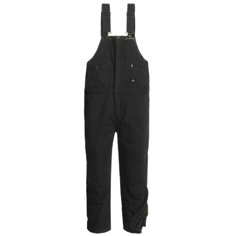 Polar King Insulated Bib Overalls (For Men) in Black