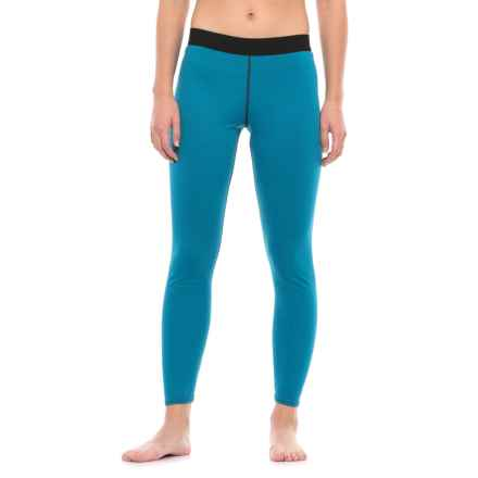 PolarFleece Polartec® Power Grid® Base Layer Pants (For Women) in Blue - Closeouts