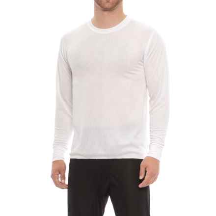 Polarmax Base Layer Basics Top - Long Sleeve (For Men) in White - Closeouts