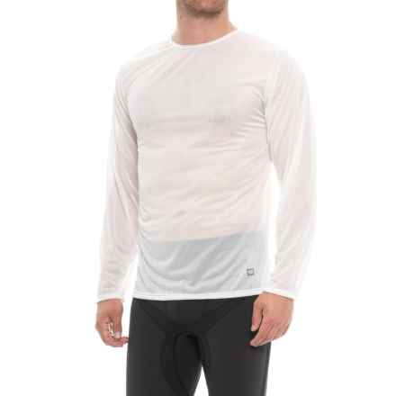 Polarmax Natural Crew Neck Base Layer Top - Long Sleeve (For Men) in Natural - Closeouts