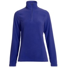Polartec® Fleece Pullover Jacket - Zip Neck (For Women) in Regent - 2nds
