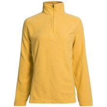 Polartec® Fleece Pullover Jacket - Zip Neck (For Women) in Tulip - 2nds
