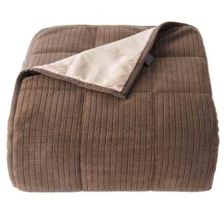 Polartec Porcini Down-Alternative Blanket - Full-Queen in Porcini - Closeouts
