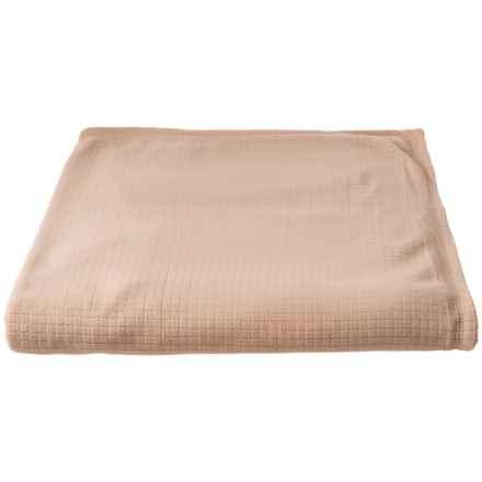 Polartec Softec Microfleece Blanket - Full-Queen, Linen Colored in Linen - Closeouts