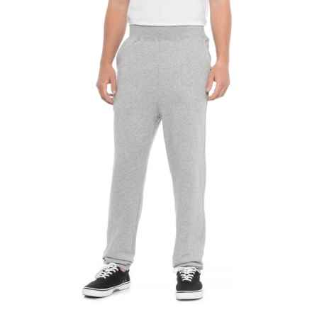 Bag It Fleece Pants (For Men) in Gry Heather - Closeouts