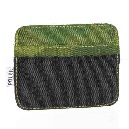 Cardclops Wallet in Green Furry Camo - Closeouts