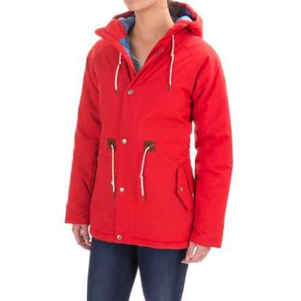 Poler Cedar Jacket - Waterproof, Insulated (For Women) in Lava - Closeouts