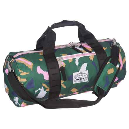 Poler Classic Carry-On Duffel Bag in Treetop Camo - Closeouts