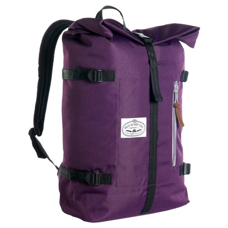 Poler Classic Rolltop 28L Backpack in Purple