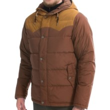 Poler Guide Down Jacket - 550 Fill Power (For Men) in Beaver/Camel - Closeouts