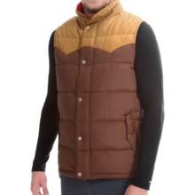 Poler Guide Down Vest - 550 Fill Power (For Men) in Beaver/Camel - Closeouts
