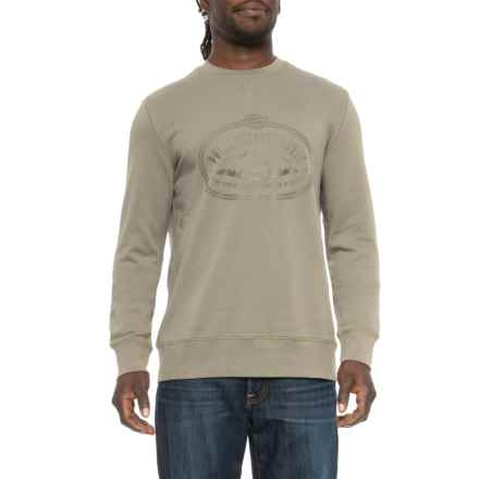 Lasso Shirt - Crew Neck, Long Sleeve (For Men) in Olive - Closeouts