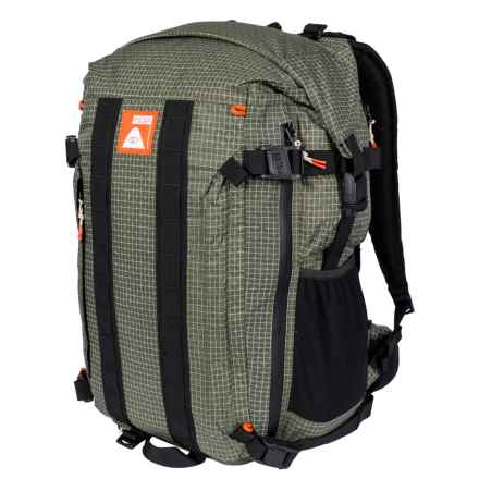 Orange Label Roll-Top Backpack in Forest - Closeouts