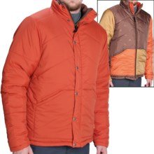 Poler Reversible Jacket - Insulated (For Men) in Burnt Orange - Closeouts