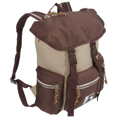 Poler Roamers 14L Backpack in Khaki