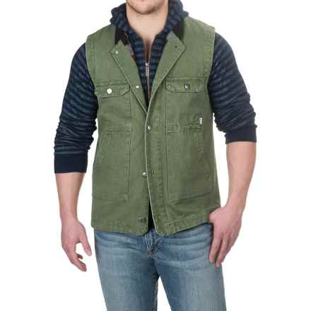 Poler Stanley Vest (For Men) in Mossy - Closeouts