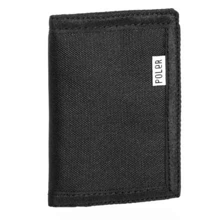 Trifold Wallet in Black - Closeouts
