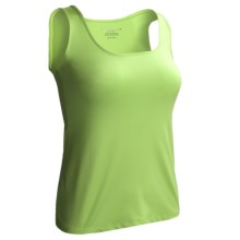 Polished Layering Shell - Sleeveless (For Women) in Lime - 2nds