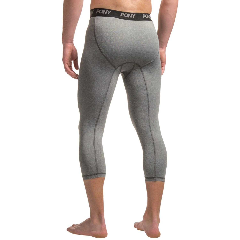 pony 3 4 compression tights for men save 72. Black Bedroom Furniture Sets. Home Design Ideas