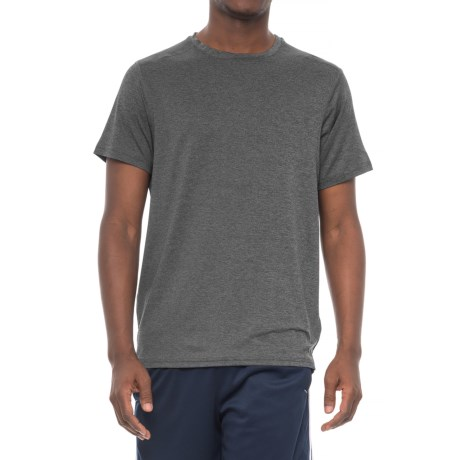 PONY Active T-Shirt - Short Sleeve (For Men) in Black Heather