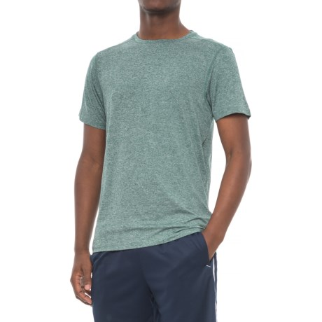 PONY Active T-Shirt - Short Sleeve (For Men) in Tropical Heather