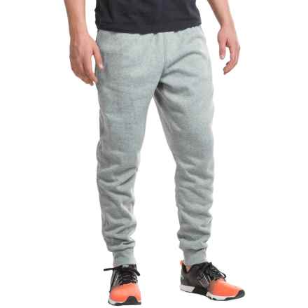 PONY Double Zip Pocket Joggers (For Men) in Grey Fleck/Black - Closeouts