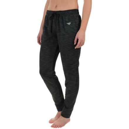 PONY Fashion Slim Fit Joggers (For Women) in Black - Closeouts