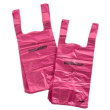 Pooch Pick-Up Bags - DEGRADABLE - 100-Pack in Scented - Pink - Closeouts