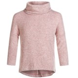 Poof Cowl Neck Sweater (For Girls)