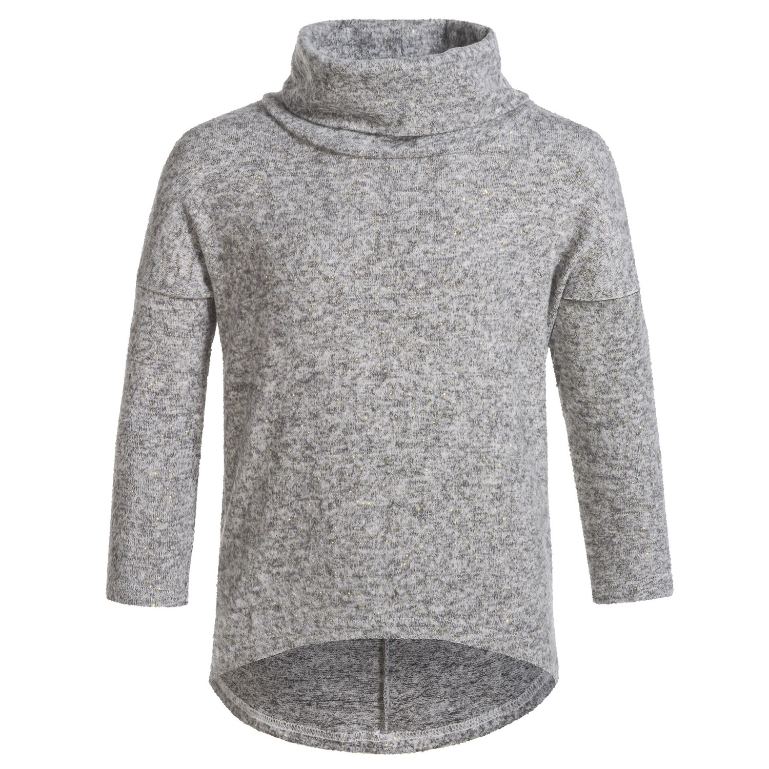 Poof Cowl Neck Sweater (For Girls) - Save 44%