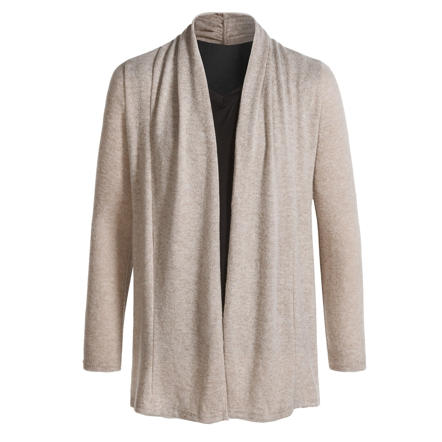 Poof Open Cardigan Sweater (For Girls) - Save 27%