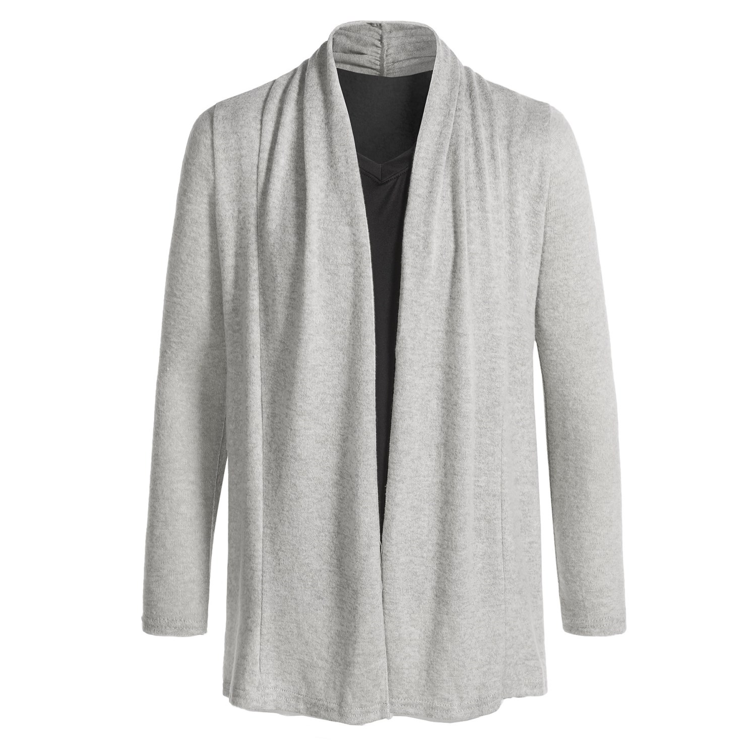 Poof Open Cardigan Sweater (For Girls) - Save 44%