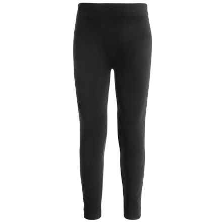 Poof Too Seamless Leggings (For Big Girls) in Black - Closeouts