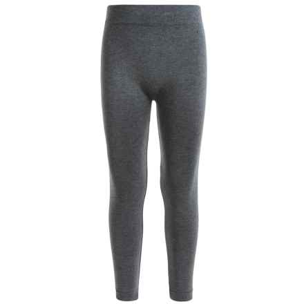 Poof Too Seamless Leggings (For Big Girls) in Charcoal Heather - Closeouts