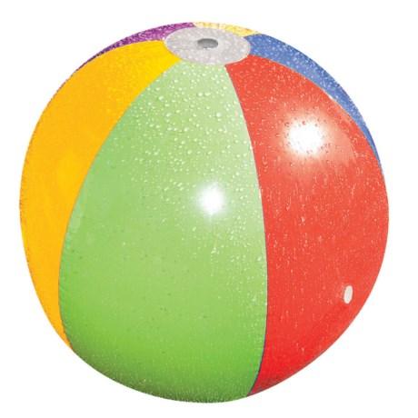 "Poolmaster Splash N' Spray Ball - 35"" in Rainbow"