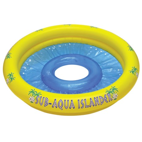 "Poolmaster Sub-Aqua Islander Inflatable - 65"" in Yellow"