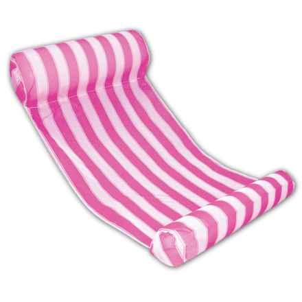 "Poolmaster Water Hammock Lounge - 51.75x26"" in Pink - Closeouts"
