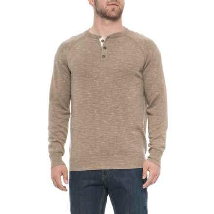 d41d7eaa73b2d Porter & Ash Porter Ash Space-Dye Henley Shirt - Cotton, Long Sleeve (